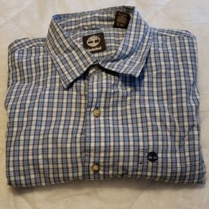 Timberland Button Down Casual Dress Shirt Mens XL